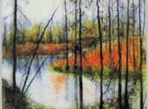 """""""Quiet Destination"""" by Laurene Howell, featured in Portland Open Studios"""