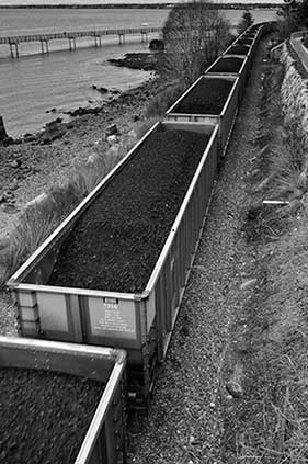 Coal train in Washington State