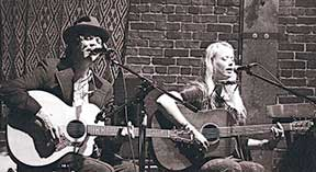 The Begonias are Dan Haley and Rachael Rice