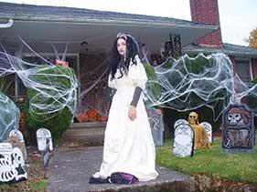 Halloween Trinkets and Treats around Belmont