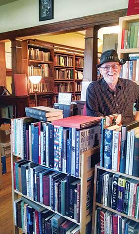 Anthology Booksellers owner Gary Wilkie