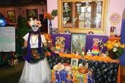 Day of Death altar at La Bamba