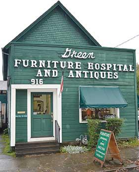 Green Furniture Hospital on SE 2oth