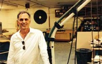 Dan Boyer, manager of HHB Studio manufacturing custom furniture