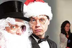 Santa's e.e.cummings to town