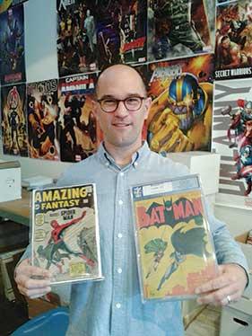 Cloud 9 Comics owner Ken Dyber