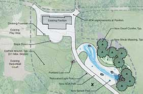 Plans for Colonel Summers Park