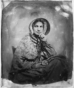 1855 Ambrotype photo - one decade after the Big Burn